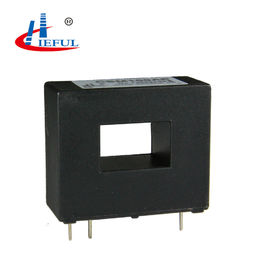 China AC DC Pulse Closed Loop Current Sensor , Hall Current Transducer Black Color supplier