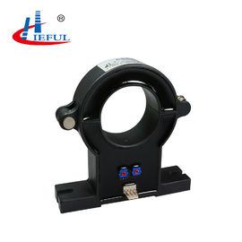 Black Open Loop Split Core Current Sensor For Measuring AC / DC Pulsed Current