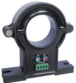 Black Color DC Current Transmitter , Open Loop Type Current Transformer
